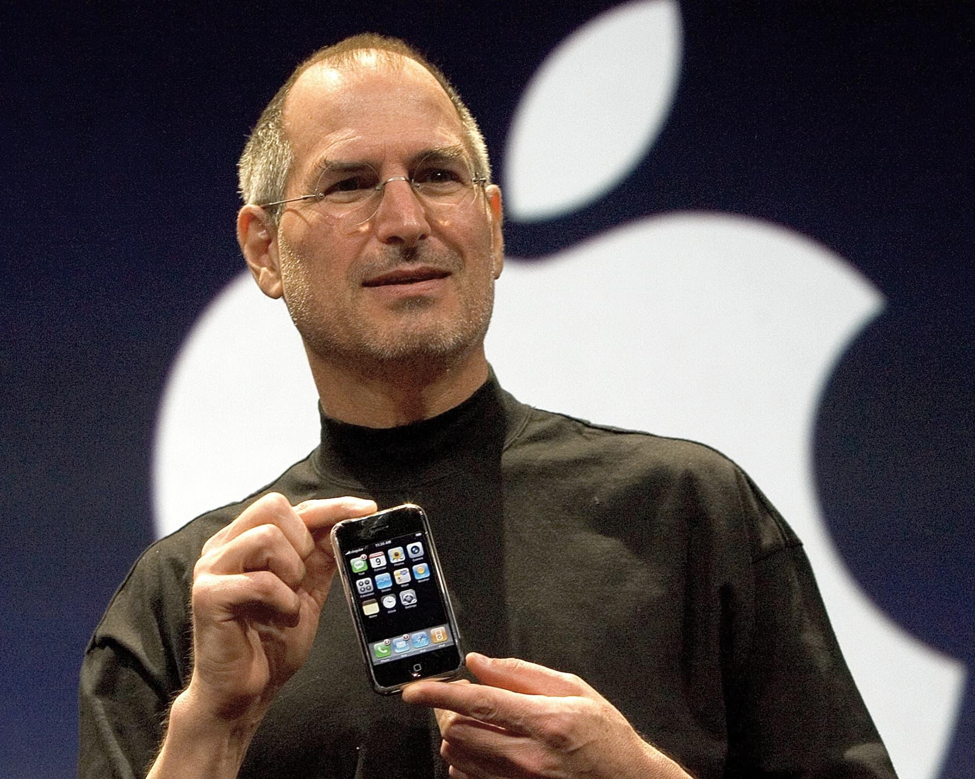Steve Jobs from Apple