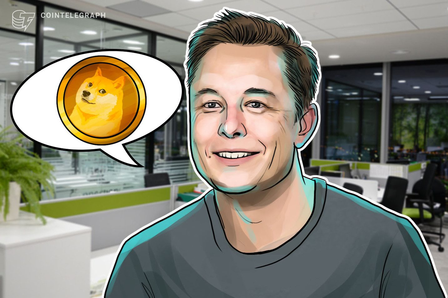 Dogecoin endorsed by Elon Musk