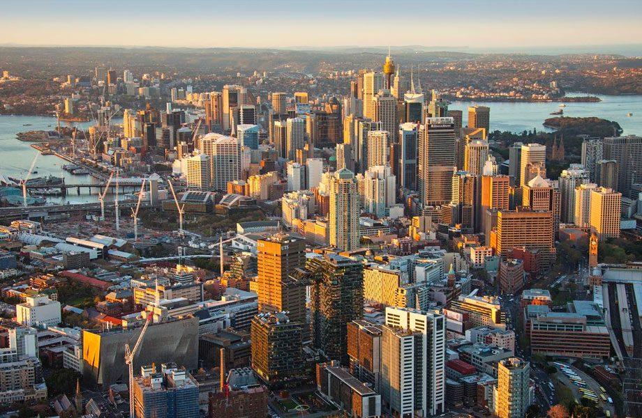 Sydney's CBD is attracting people back
