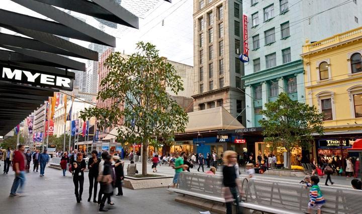 Melbourne's Bourke St Mall