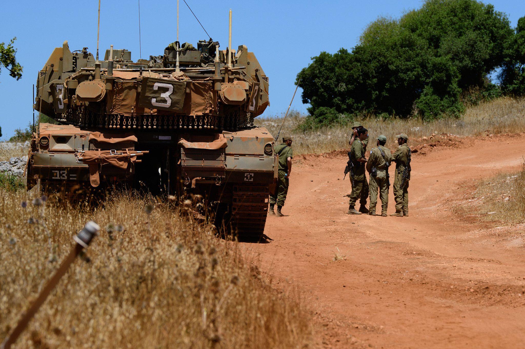 Israel fires back at Lebanon