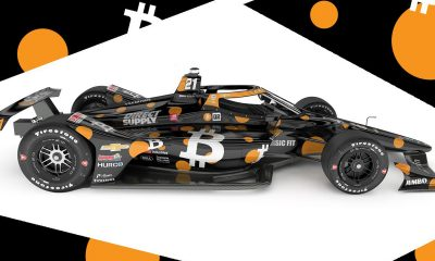 bitcoin race car