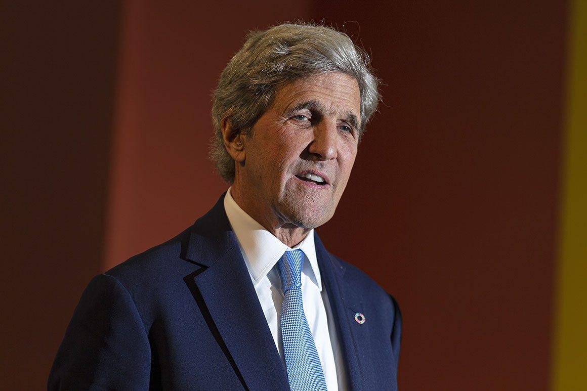 climate envoy John Kerry