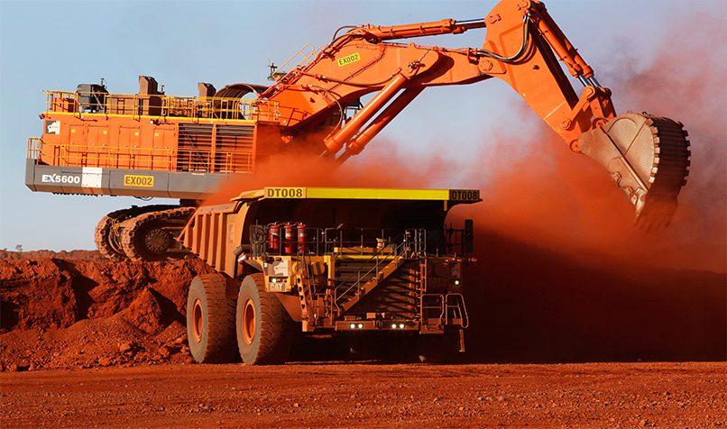 Australia's iron ore helping the budget