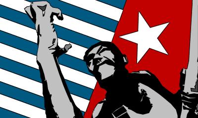 West Papua flag.