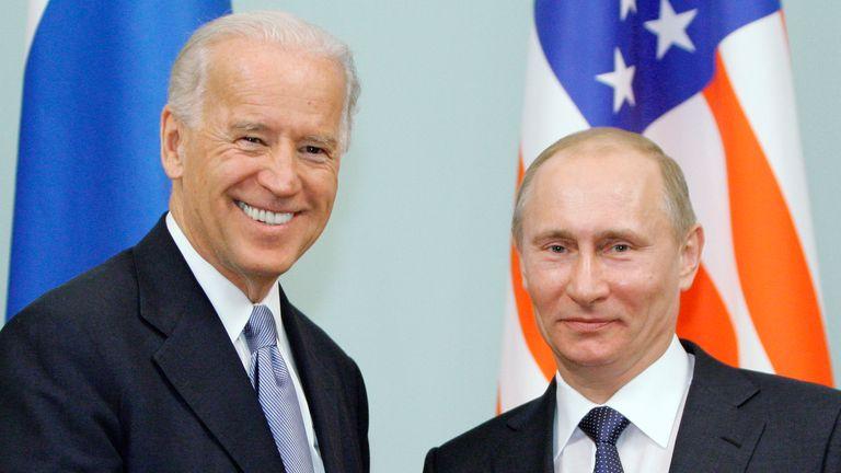 Joe Biden and Vladimir Putin will beat their chests