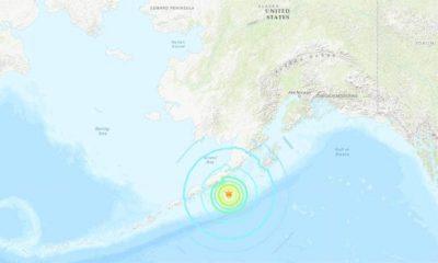 An 8.5 magnitude earthquake strikes the U.S.